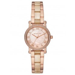 Michael Kors Ladies Norie Rose Gold Plated Bracelet Watch MK3700