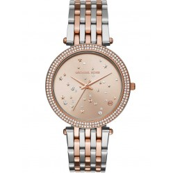 Michael Kors Ladies Darci Two Tone Celestial Bracelet Watch MK3726