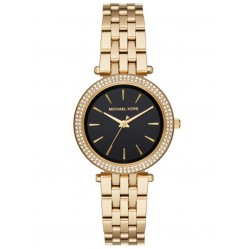 Michael Kors Ladies Darci Gold Plated Bracelet Watch MK3738