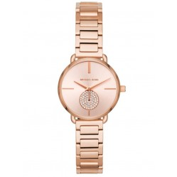 Michael Kors Mini Portia Rose Tone Bracelet Watch MK3839