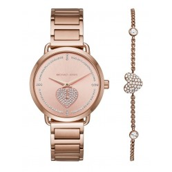 Michael Kors Rose Tone Watch Set MK3827