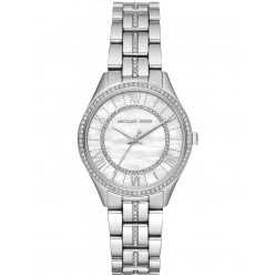 Michael Kors Ladies Mini Lauryn Mother Of Pearl Watch MK3900