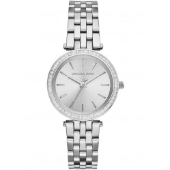 Michael Kors Ladies Mini Darci Silver Watch MK3364