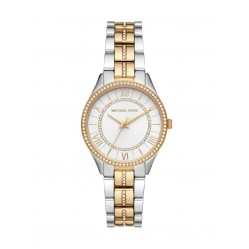 Michael Kors Ladies Lauryn Two Tone Bracelet Watch MK4454