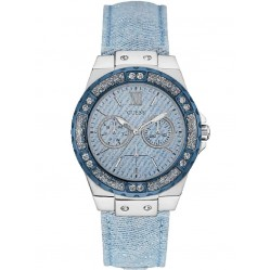 Guess Ladies Limelight Strap Watch W0775L1