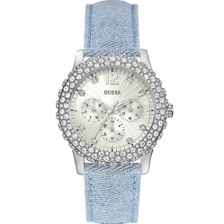 Guess Ladies Dazzler Strap Watch W0336L7