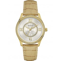 Guess Ladies Broadway Strap Watch W0768L2