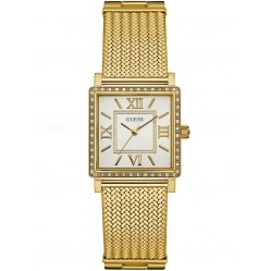 Guess Ladies Highline Gold Plated Bracelet Watch W0826L2