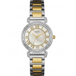 Guess Ladies South Hampton Two Tone Bracelet Watch W0831L3