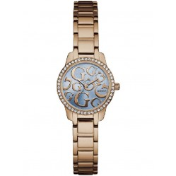 Guess Ladies Greta Rose Gold Plated Bracelet Watch W0891L3