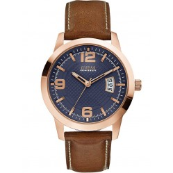 Guess Mens District Strap Watch W0494G2