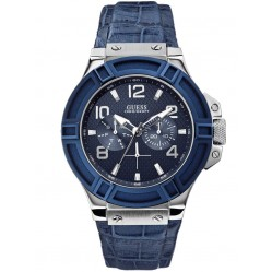Guess Mens Rigor Strap Watch W0040G7