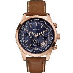 Guess Mens Pursuit Chronograph Strap Watch W0500G1