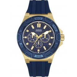 Guess Mens Force Strap Watch W0674G2