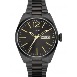 Guess Mens Vertigo Black Bracelet Watch W0657G2