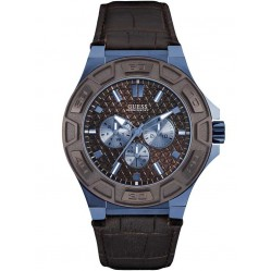 Guess Mens Force Strap Watch W0674G5