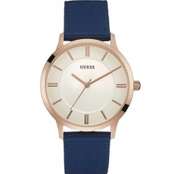 Guess Mens Escrow Strap Watch W0795G1