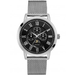 Guess Mens Delancy Stainless Steel Bracelet Watch W0871G1