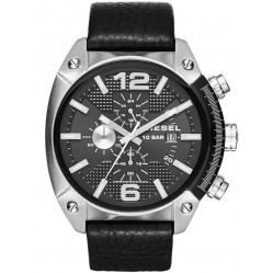Diesel Mens Overflow Chronograph Strap Watch DZ4341