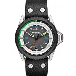 Diesel Mens Rollcage Black Watch DZ1717