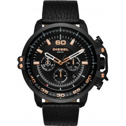 Diesel Mens Deadeye Black Chronograph Watch DZ4409