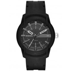 Diesel Mens Armbar Black Strap Watch DZ1830