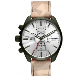 Diesel Mens MS9 Camo Strap Watch DZ4472