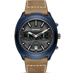 Diesel Tumbler Brown Strap Watch DZ4490