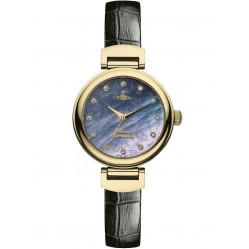 Vivienne Westwood Ladies Hampton Watch VV128GDBK
