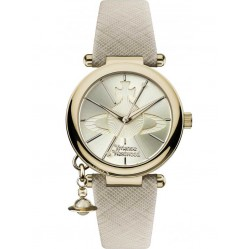 Vivienne Westwood Ladies Orb Strap Watch VV006GDCM