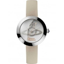 Vivienne Westwood Ladies Queensgate Strap Watch VV150WHCM