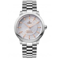 Vivienne Westwood Ladies Shoreditch Silver Dial Bracelet Watch VV196SLSL
