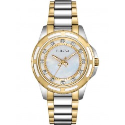 Bulova Ladies Diamond Watch 98P140