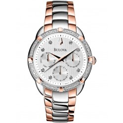 Bulova Ladies Diamond Watch 98R177