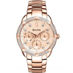 Bulova Ladies Diamond Watch 98W178