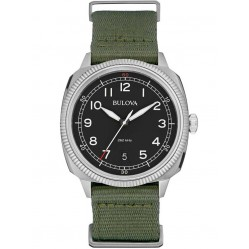 Bulova Mens Military UHF Strap Watch 96B229