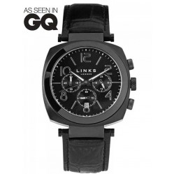Links of London Unisex Brompton Black Dial Watch 6010.1440