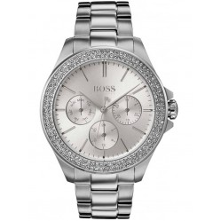 Hugo Boss Ladies Premiere Stone Set Bezel Watch 1502442