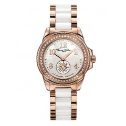 Thomas Sabo Ladies White Ceramic Watch WA0162-262-202