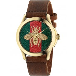 Gucci Ladies G-Timeless Honeybee Watch YA126451