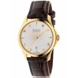 Gucci Ladies G-Timeless Automatic Strap Watch YA126470