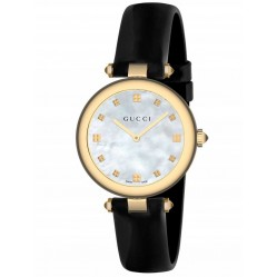 Gucci Ladies Diamantissima Strap Watch YA141404