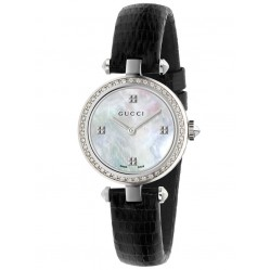 Gucci Ladies Diamantissima Strap Watch YA141507