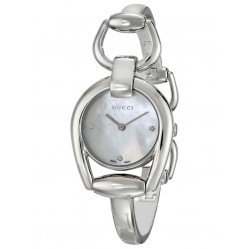 Gucci Ladies Horsebit Watch YA139506