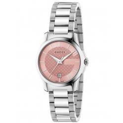 Gucci Ladies G-Timeless Bracelet Watch YA126524