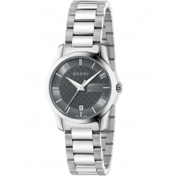 Gucci Ladies Grey Dial Watch YA126522