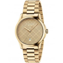 Gucci Ladies G-Timeless Gold Plated Bracelet Watch YA126461