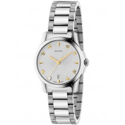 Gucci Ladies Signature Small Bracelet Watch YA126572