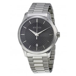 Gucci Mens Stainless Steel Watch YA126441