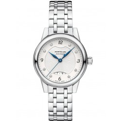Montblanc Ladies Boheme Automatic Diamond Set Dial Bracelet Watch 116498